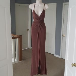 Brown gorgeous gown